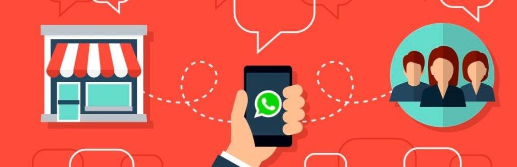 foto de um celular para ilustrar matéria sobre WhatsApp empresarial
