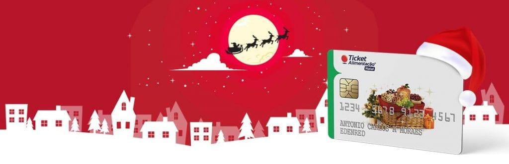 Ticket Alimentação Natal