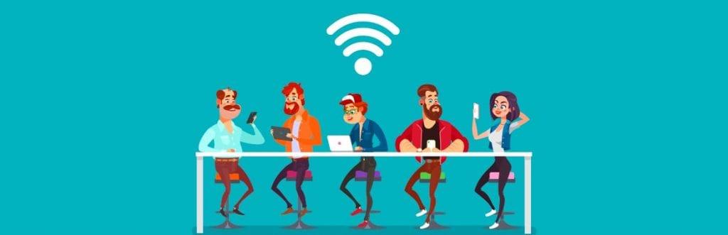 Wi-Fi da empresa